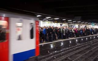 district line facing severe delays due to 24-hour tube strike