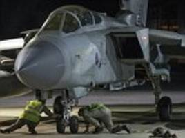 How British Tornados and Typhoons scrambled from Cyprus played crucial role in air strikes on Syria