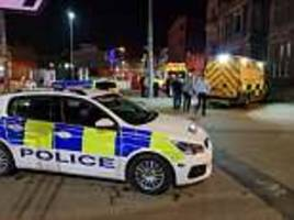 drink driver goes on the run after ploughing into group of revellers in blackpool