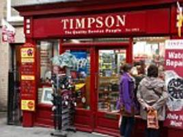 Sales grow at Timpson but profits dip due to the takeover of dry cleaning groups Johnsons and Jeeves