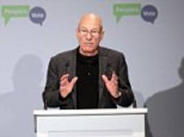 sir patrick stewart joins campaign to demand another referendum on brexit