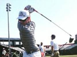 matt nicolle can hit golf balls 400 yards - and is eyeing the olympics