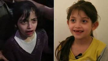 syria 'chemical attack': girl seen in hospital video speaks
