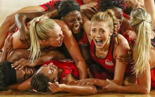 netball joy for england on final day of commonwealths