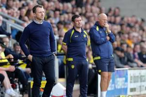 what gary rowett said to his derby county players in the dressing room after burton albion defeat