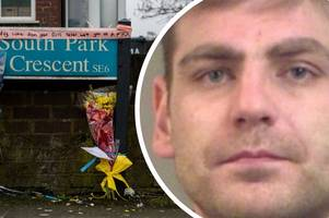 the family of a kent burglar killed after breaking into a pensioner's home have clashed with police and furious locals after laying another shrine
