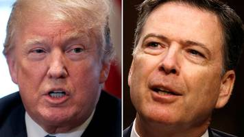 Donald Trump attacks James Comey's FBI memoir of 'lies'