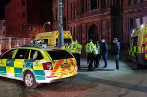 Panic in Blackpool town centre as suspected drink-driver ploughs into crowds on busy Saturday night
