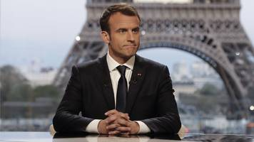 Syria air strikes: Macron says he convinced Trump not to pull out troops