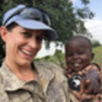 actions of lt. col. melanie childs saved scores of south sudan refugees