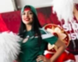 video: bubble football and freestyle fire - the fifa world cup trophy tour by coca-cola arrives in mexico