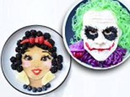 mother creates incredible movie-inspired meals for her children