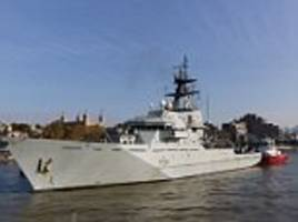 Royal Navy keeps old offshore patrol ships it was due to retire