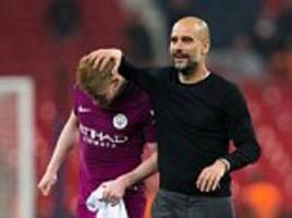 Man City players want Pep Guardiola to build a dynasty, says De Bruyne