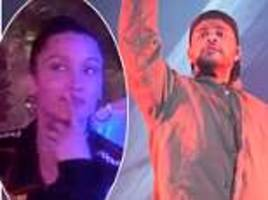 The Weeknd and Bella Hadid reignite reunion rumours at Coachella