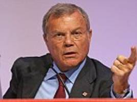 alex brummer: sorrell's departure is barely noticed in the american press