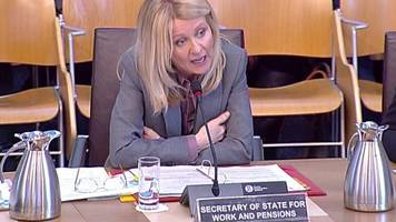public outburst as uk minister addresses holyrood committee