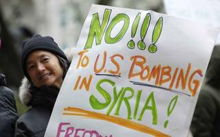 Legal advice sought by Labour suggests Syrian airstrikes were illegal