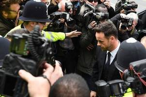 Ant McPartlin pleads guilty in court to drink-driving after London car crash - latest