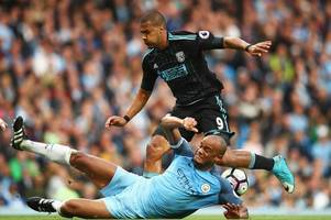 Manchester City captain Vincent Kompany has sent this message to West Brom