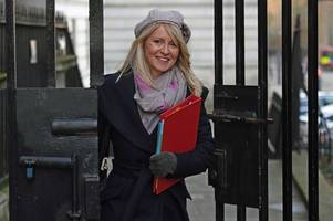 cabinet minister esther mcvey says forcing women to reveal they have been raped 'gives them an opportunity to talk' about it