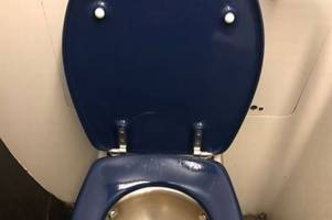 a shocking picture shows problem of overfilled toilets on southeastern trains as 'urine flooded through a carriage'