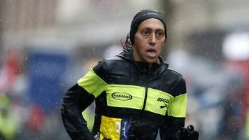 Boston Marathon: Desiree Linden becomes first American woman to win Boston Marathon since 1985