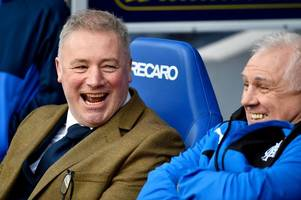 rangers legend ally mccoist reveals how ibrox stars once partied before celtic clash