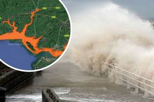 flood alert for parts of wales this week despite bright forecast