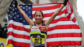 how des linden beat fatigue, weather conditions to win the 2018 boston marathon