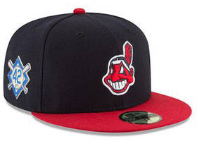 mlb store pulls chief wahoo hats with jackie robinson patch