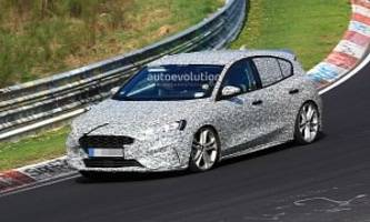 Spyshots: 2020 Ford Focus ST Makes Photo Debut, Has Twin Exhaust