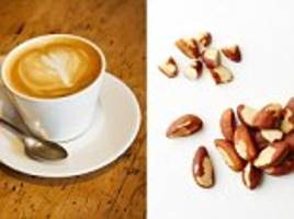 Drinking three cups of coffee a day and eating nuts reduces the risk of abnormal heart rhythm