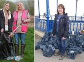 mail readers join our great plastic pick up backed by the prime minister and sir david  attenborough