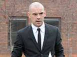 Former Man Utd and Sunderland footballer Darron Gibson arrives at court to face drink driving charge
