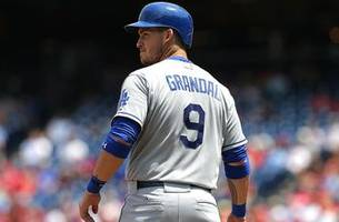 former friars kemp, grandal go deep as dodgers rout padres 10-3