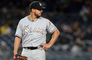 Marlins overpowered by Yankees offense in Stanton reunion