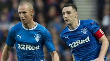 Rangers to suspend Kenny Miller and Lee Wallace after dressing room argument