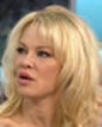 cringiest gmb ever? pamela anderson speechless as piers morgan makes awks sex joke