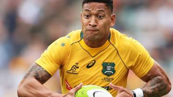 australia's folau will not be punished for anti-gay remark
