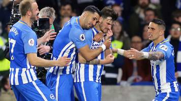 brighton hold spurs to edge closer to safety