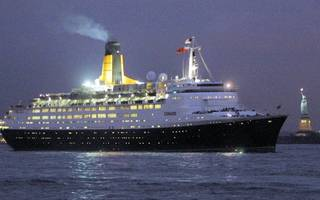 qe2 is finally opening as a floating hotel in dubai this week