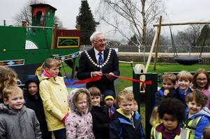 new play area at grand western canal basin opens in time for summer holidays