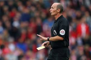 will referee who issued stoke city's first premier league red card get to hand out their last one too?