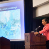 Esri's Dawn Wright Celebrates Earth Day by Speaking at EarthxOcean Conference