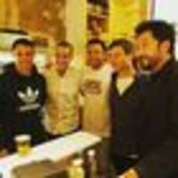 NZ's first man and a couple of All Blacks make it a party in Paris