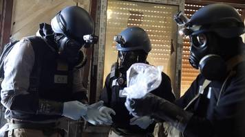 How does the OPCW test for chemical weapons?