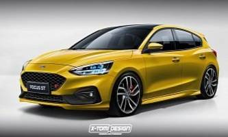 2020 Ford Focus ST Rumored To Get 1.5-liter EcoBoost Three-Cylinder Engine