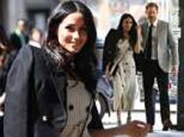 meghan markle attends first major event on behalf of royal family