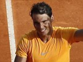 Rafael Nadal off and running in Monte-Carlo Masters